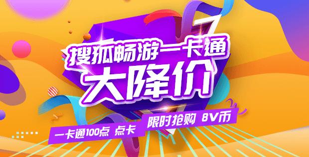 搜狐畅游一卡通 100点点卡